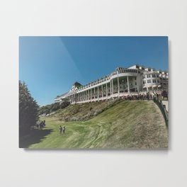 The Grand Hotel In Mackinac Island Metal Print