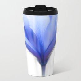 Blue Iris 1 Metal Travel Mug