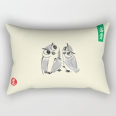 Owl - Kyu Tae Kim Rectangular Pillow