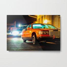 Lowrider Cadillac Metal Print