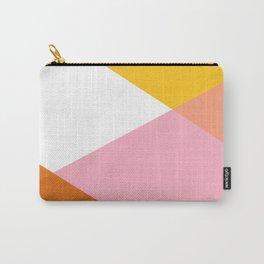 Geometrics - sorbet & orange concrete Carry-All Pouch