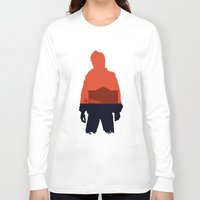 marty mcfly Long Sleeve T-shirts featuring Marty! by JM Illustration