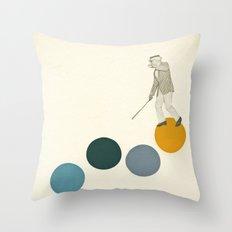 Tap Dancing Throw Pillow