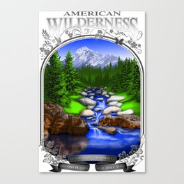 AMERICAN WILDERNESS Canvas Print