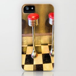 olde time stools iPhone Case