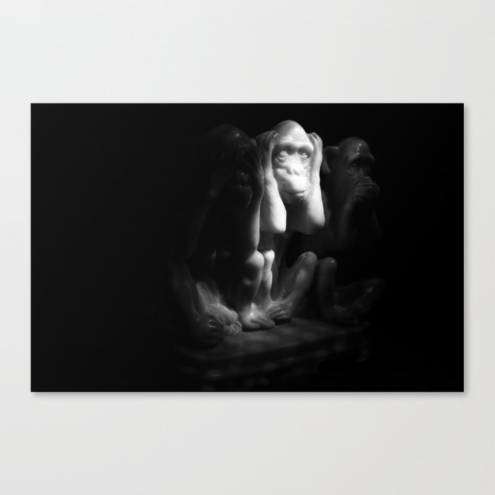 La Captivité Canvas Print