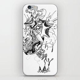 Ink Entanglement iPhone Skin