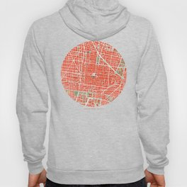 Mexico city map classic Hoody