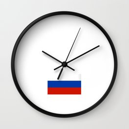 Russia Moscow City Vacation Travel Gift Idea Wall Clock
