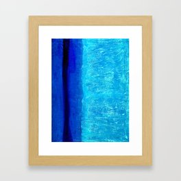 Blue Serenity Framed Art Print