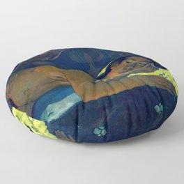 """Paul Gauguin """"Nevermore"""" Floor Pillow"""