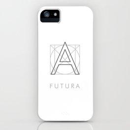 Futura White iPhone Case