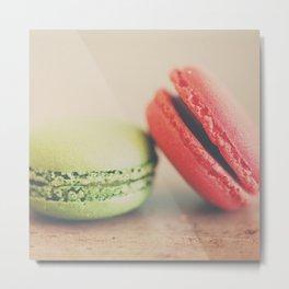 pistachio & strawberry ... Metal Print