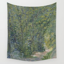 Path in the Woods Wall Tapestry