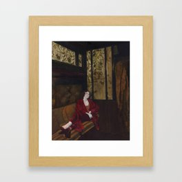 Laughing Lonely Framed Art Print
