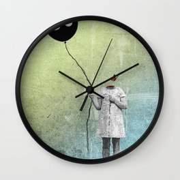 not letting go Wall Clock