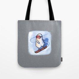 SNOWBOARDING GHOSTIE Tote Bag