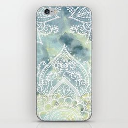 MANDALA ON MARBLE iPhone Skin