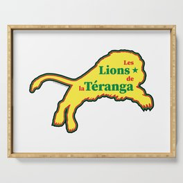 Senegal Les Lions de la Téranga (The Lions of Teranga) ~Group H~ Serving Tray