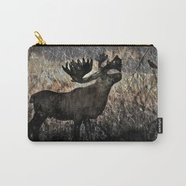 In the Woodlands, Far Far Away (amber version) Carry-All Pouch