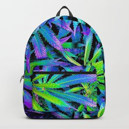 Neon Cannabis Backpack
