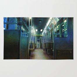 Ghost Train Rug