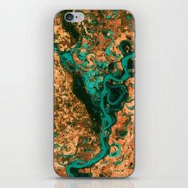 Meandering Mississippi iPhone Skin