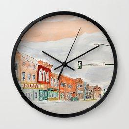 Jefferson Street Wall Clock