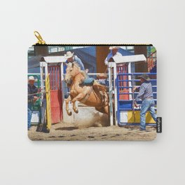 Breaking Out II - Rodeo Horse Carry-All Pouch