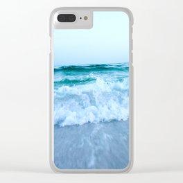 Ocean Pull Clear iPhone Case