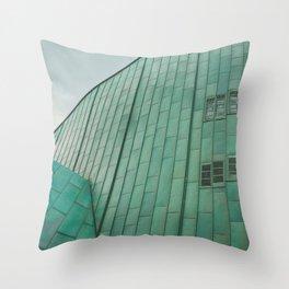 Amsterdam NEMO museum Throw Pillow