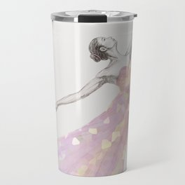 Crystal Ballerina Travel Mug
