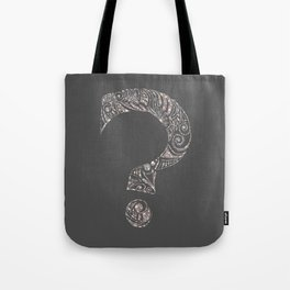 Scratchboard Ambivalence Tote Bag