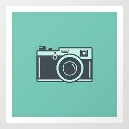 Camera Illustration Art Print