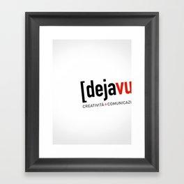 Dejavu Framed Art Print