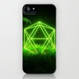 Icosahedron Hare iPhone Case