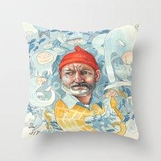 AQUATIC Throw Pillow