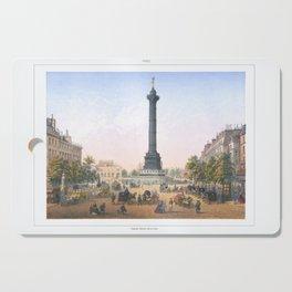 Paris art print Paris Decor office decoration vintage decor PLACE BASTILLE of Paris Cutting Board