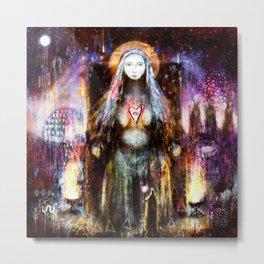 Vanadis - Goddess Freyja Metal Print