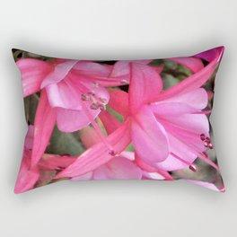 Little Pink Fuchia Rectangular Pillow