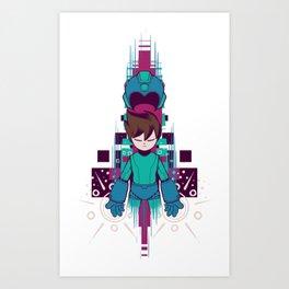 The Mega Man Art Print