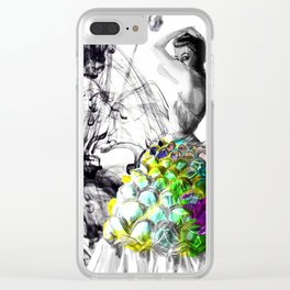 Fashionista Clear iPhone Case