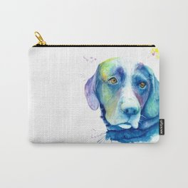 Otis The Black Lab Carry-All Pouch