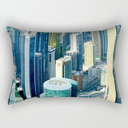 Dubai cityscape Rectangular Pillow