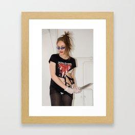 Blade Framed Art Print