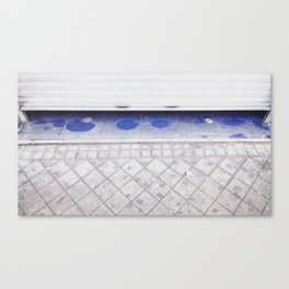 Azul (a veces) Canvas Print
