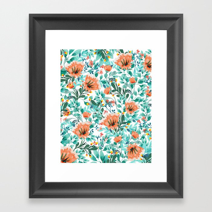 Tangerine Dreams #society6 #decor #buyart Gerahmter Kunstdruck