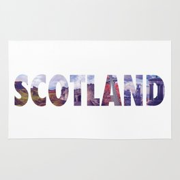 Views from Scotland Rug