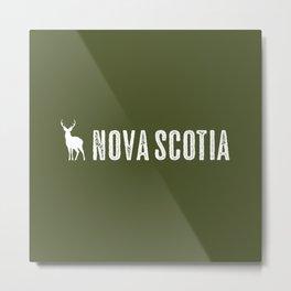 Deer: Nova Scotia, Canada Metal Print