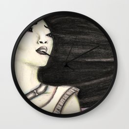 Painting the Wind Wall Clock
